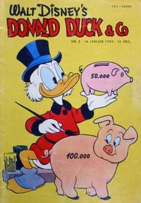 Cover Thumbnail for Donald Duck & Co (Hjemmet / Egmont, 1948 series) #3/1959