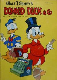 Cover Thumbnail for Donald Duck & Co (Hjemmet / Egmont, 1948 series) #8/1959