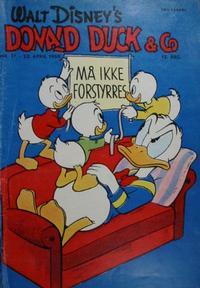 Cover Thumbnail for Donald Duck & Co (Hjemmet / Egmont, 1948 series) #17/1959