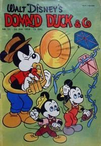 Cover Thumbnail for Donald Duck & Co (Hjemmet / Egmont, 1948 series) #21/1959