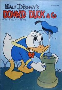 Cover Thumbnail for Donald Duck & Co (Hjemmet / Egmont, 1948 series) #28/1959