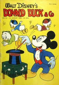 Cover Thumbnail for Donald Duck & Co (Hjemmet / Egmont, 1948 series) #33/1959