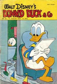 Cover Thumbnail for Donald Duck & Co (Hjemmet / Egmont, 1948 series) #34/1959