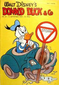 Cover Thumbnail for Donald Duck & Co (Hjemmet / Egmont, 1948 series) #37/1959