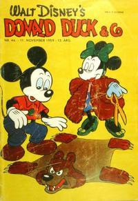 Cover Thumbnail for Donald Duck & Co (Hjemmet / Egmont, 1948 series) #46/1959