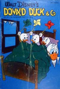 Cover Thumbnail for Donald Duck & Co (Hjemmet / Egmont, 1948 series) #47/1959