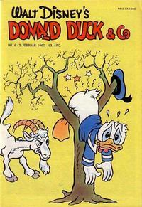 Cover Thumbnail for Donald Duck & Co (Hjemmet / Egmont, 1948 series) #6/1960