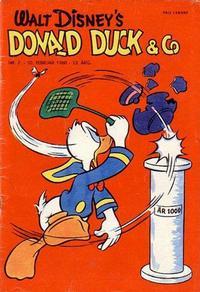 Cover Thumbnail for Donald Duck & Co (Hjemmet / Egmont, 1948 series) #7/1960
