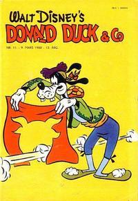Cover Thumbnail for Donald Duck & Co (Hjemmet / Egmont, 1948 series) #11/1960