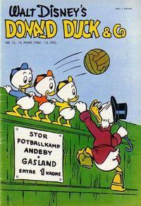 Cover Thumbnail for Donald Duck & Co (Hjemmet / Egmont, 1948 series) #12/1960