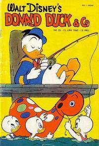 Cover Thumbnail for Donald Duck & Co (Hjemmet / Egmont, 1948 series) #25/1960