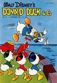 Cover Thumbnail for Donald Duck & Co (Hjemmet / Egmont, 1948 series) #37/1960