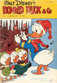 Cover Thumbnail for Donald Duck & Co (Hjemmet / Egmont, 1948 series) #1/1961