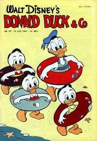 Cover Thumbnail for Donald Duck & Co (Hjemmet / Egmont, 1948 series) #29/1961