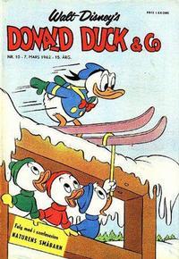Cover Thumbnail for Donald Duck & Co (Hjemmet / Egmont, 1948 series) #10/1962