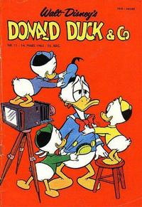 Cover Thumbnail for Donald Duck & Co (Hjemmet / Egmont, 1948 series) #11/1962