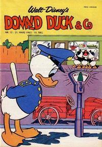 Cover Thumbnail for Donald Duck & Co (Hjemmet / Egmont, 1948 series) #12/1962