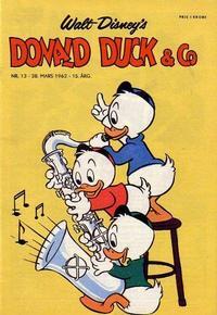 Cover Thumbnail for Donald Duck & Co (Hjemmet / Egmont, 1948 series) #13/1962
