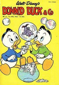 Cover Thumbnail for Donald Duck & Co (Hjemmet / Egmont, 1948 series) #15/1962