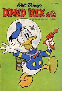 Cover Thumbnail for Donald Duck & Co (Hjemmet / Egmont, 1948 series) #16/1962