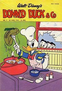Cover Thumbnail for Donald Duck & Co (Hjemmet / Egmont, 1948 series) #17/1962