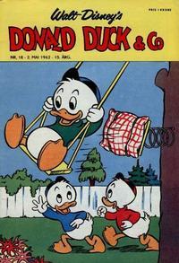 Cover Thumbnail for Donald Duck & Co (Hjemmet / Egmont, 1948 series) #18/1962