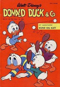 Cover Thumbnail for Donald Duck & Co (Hjemmet / Egmont, 1948 series) #22/1962