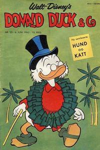 Cover Thumbnail for Donald Duck & Co (Hjemmet / Egmont, 1948 series) #23/1962