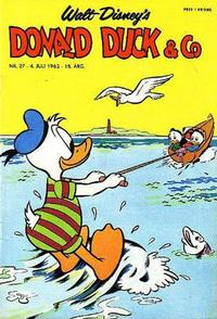 Cover Thumbnail for Donald Duck & Co (Hjemmet / Egmont, 1948 series) #27/1962