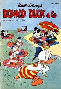 Cover for Donald Duck & Co (Hjemmet / Egmont, 1948 series) #29/1962