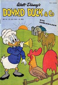 Cover Thumbnail for Donald Duck & Co (Hjemmet / Egmont, 1948 series) #30/1962