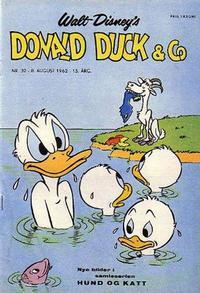 Cover Thumbnail for Donald Duck & Co (Hjemmet / Egmont, 1948 series) #32/1962