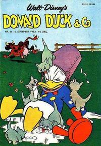 Cover Thumbnail for Donald Duck & Co (Hjemmet / Egmont, 1948 series) #36/1962