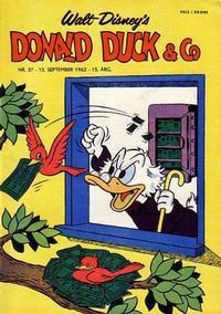 Cover Thumbnail for Donald Duck & Co (Hjemmet / Egmont, 1948 series) #37/1962
