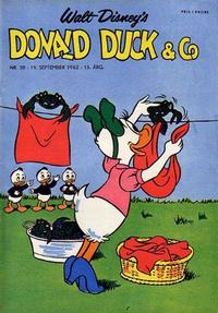 Cover Thumbnail for Donald Duck & Co (Hjemmet / Egmont, 1948 series) #38/1962