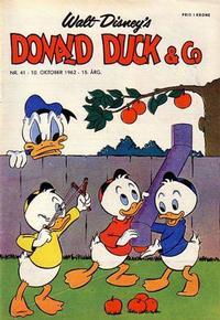 Cover Thumbnail for Donald Duck & Co (Hjemmet / Egmont, 1948 series) #41/1962