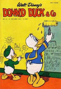 Cover Thumbnail for Donald Duck & Co (Hjemmet / Egmont, 1948 series) #44/1962