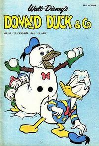 Cover Thumbnail for Donald Duck & Co (Hjemmet / Egmont, 1948 series) #52/1962