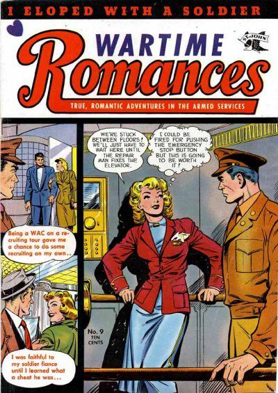 Cover for Wartime Romances (St. John, 1951 series) #9