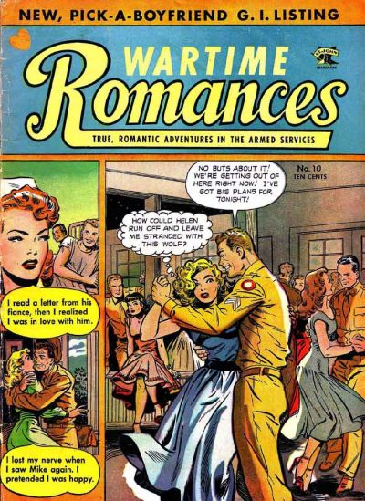 Cover for Wartime Romances (St. John, 1951 series) #10