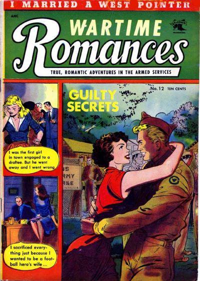 Cover for Wartime Romances (St. John, 1951 series) #12