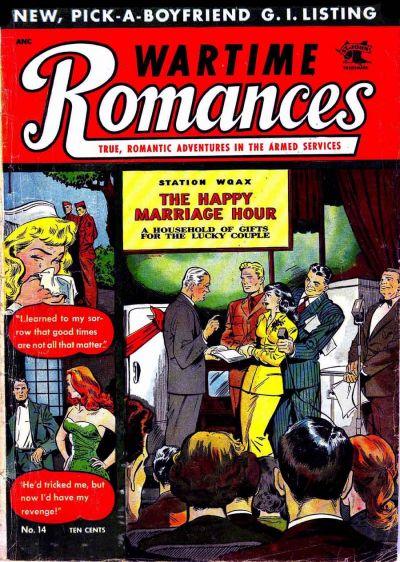 Cover for Wartime Romances (St. John, 1951 series) #14
