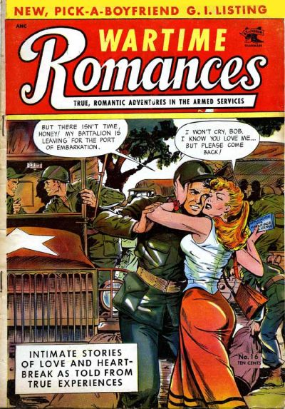 Cover for Wartime Romances (St. John, 1951 series) #16