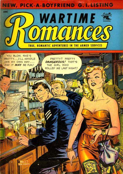 Cover for Wartime Romances (St. John, 1951 series) #17