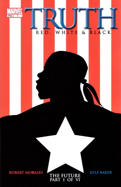 Cover for Truth: Red, White & Black (Marvel, 2003 series) #1