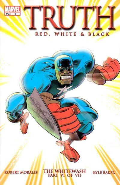 Cover for Truth: Red, White & Black (Marvel, 2003 series) #6