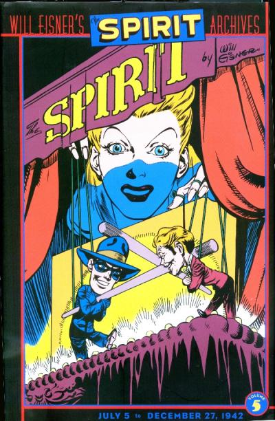 Cover for Will Eisner's The Spirit Archives (DC, 2000 series) #5