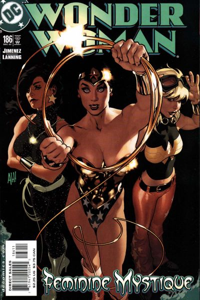 Cover for Wonder Woman (DC, 1987 series) #186