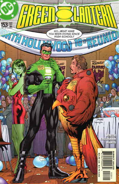 Cover for Green Lantern (DC, 1990 series) #153