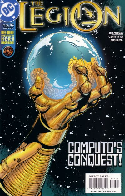 Cover for The Legion (DC, 2001 series) #14